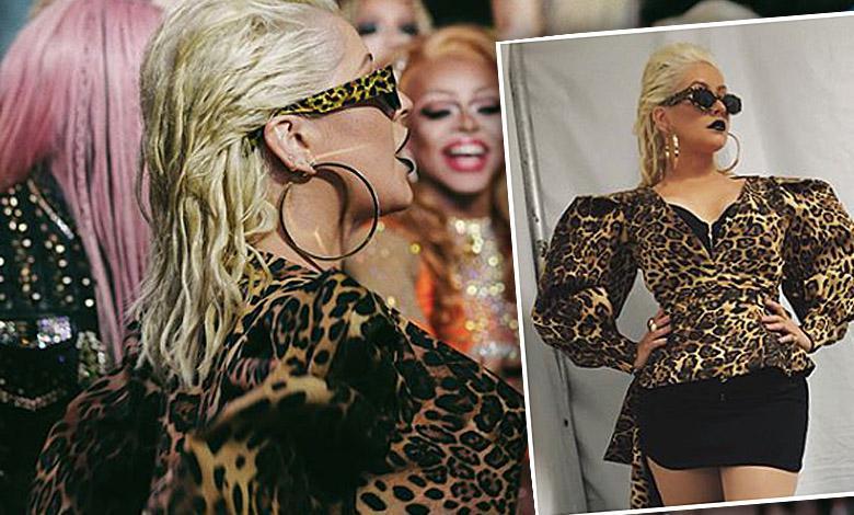 Christina Aguilera w ciuchach polskiej marki