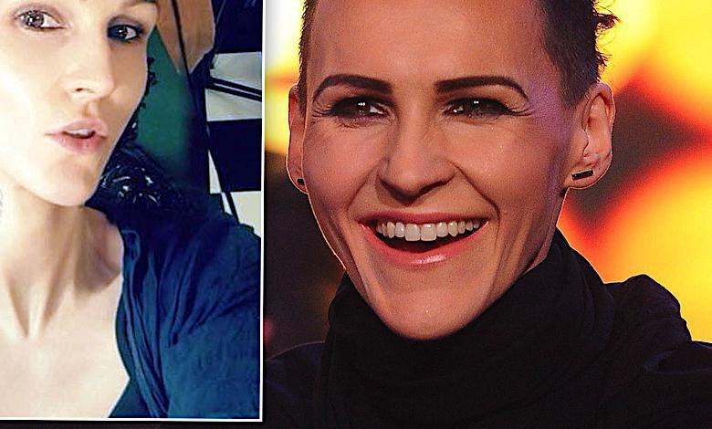 To nie jest żart. Agnieszka Chylińska zrobiła sobie wielki tatuaż na głowie! Nie da się go nie zauważyć