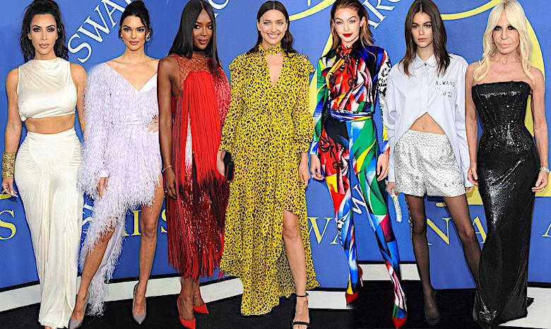 CFDA Fashion Awards 2018, kreacje gwiazd, laureaci