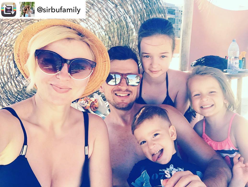O-Zone: Radu Alexei Sârbu z rodziną w 2018 roku