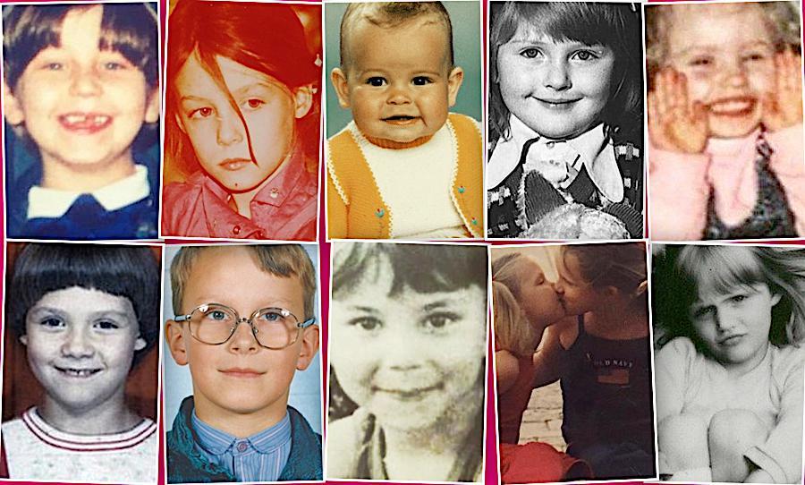 Dzień Dziecka, gwiazdy w dzieciństwie