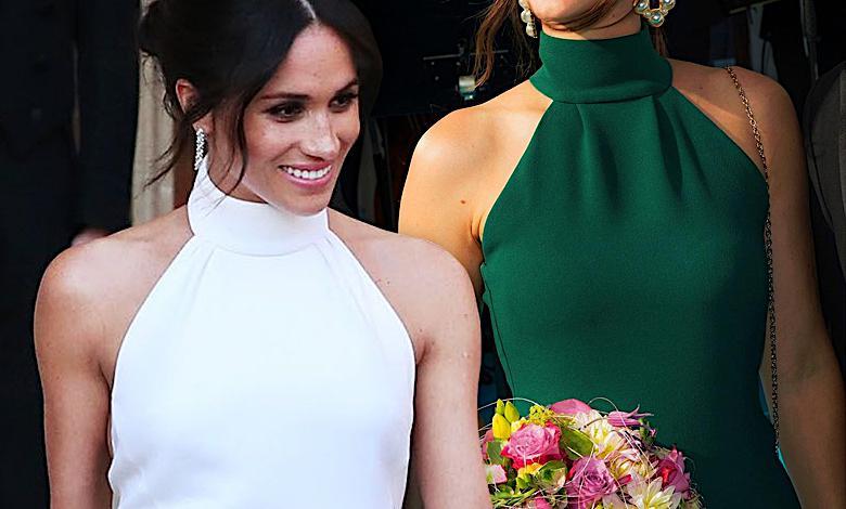 Księżna Sofia i Meghan Markle ubrały się tak samo