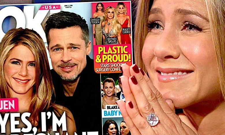 Jennifer Aniston w ciąży