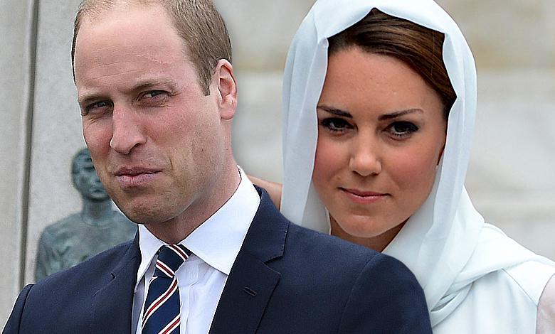 Księżna Kate i książę William w Jordanii