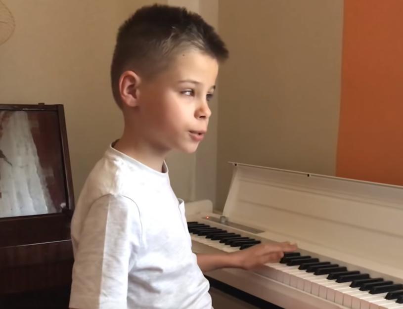 Igor Sobierajski dostał pianino od Gromee'ego
