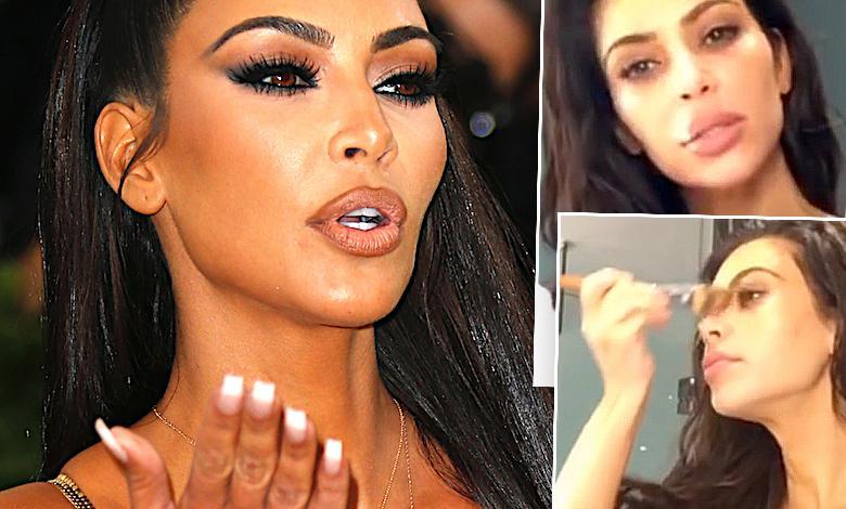 Kim Kardashian używa chusteczek za 18 złotych