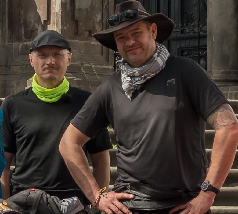 Ameryka Express: Tomasz Karolak wraz z kolegą Jakubem Urbańskim