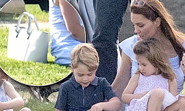 Co księżna Kate nosi w torbie?