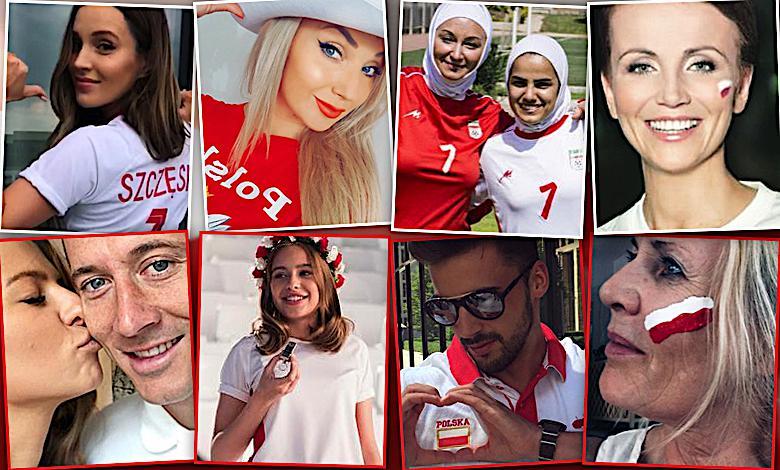 Biało-czerwone gwiazdy z całych sił dopingują Polaków na Mundialu 2018! Instagram zalała fala zdjęć!