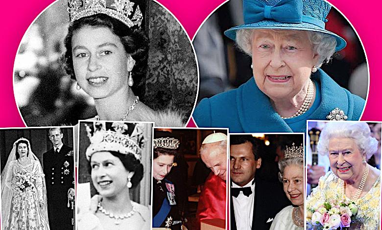 Królowa Elżbieta II historia