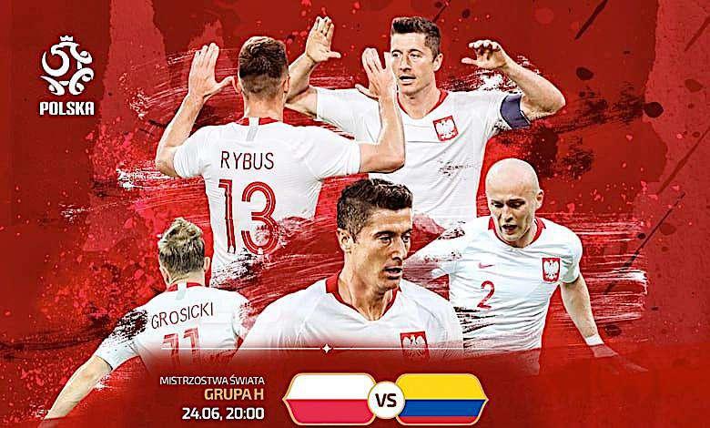 Mecz Polska-Kolumbia Wynik