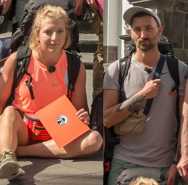 Ameryka Express: Lara Gessler i jej przyjaciel Piotr Sałata