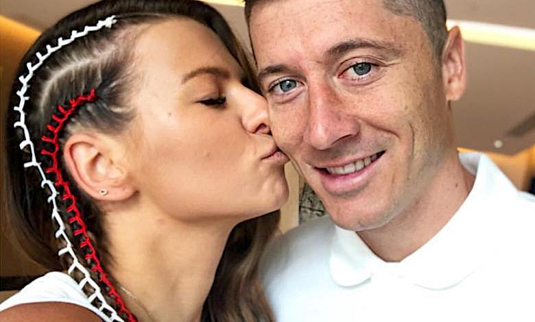 Anna i Robert Lewandowscy Mundial 2018
