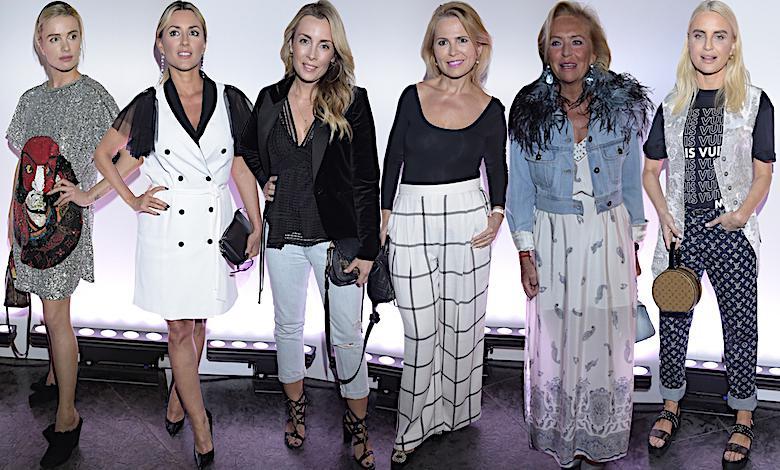 Louis Vuitton, kreacje gwiazd na pokazie