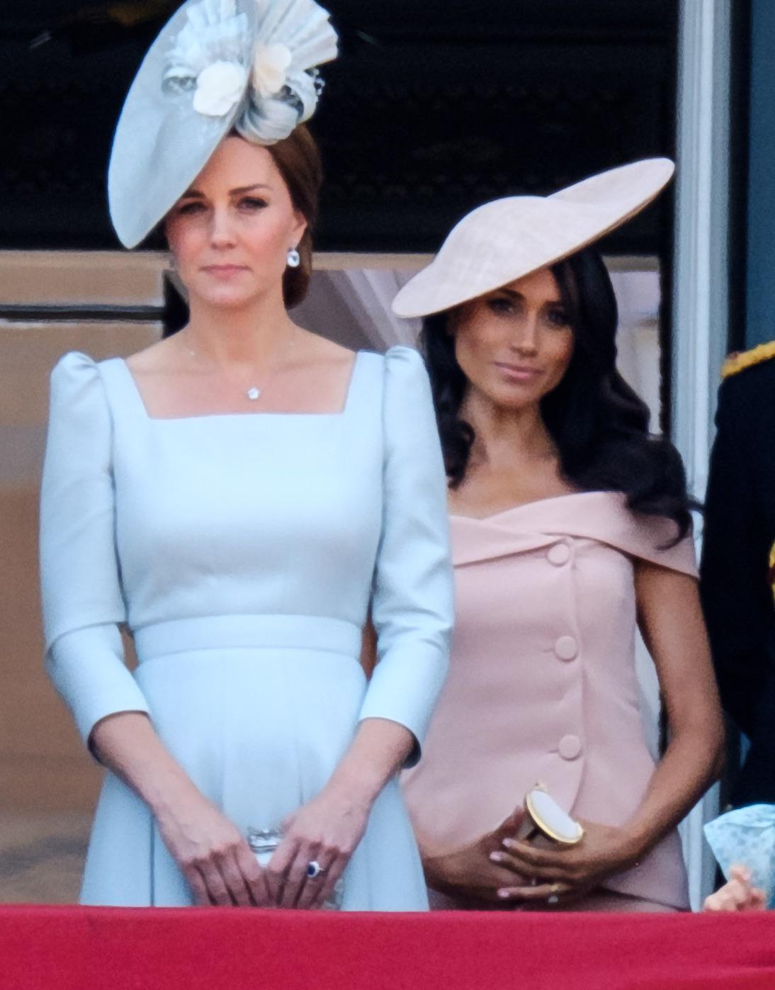 Meghan Markle w cieniu księżnej Kate
