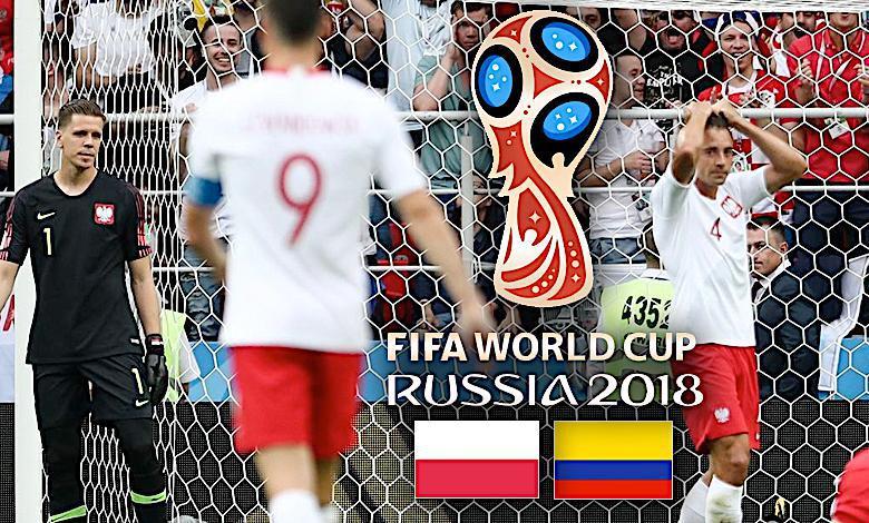 Mecz Polska-Kolumbia, Mundial 2018