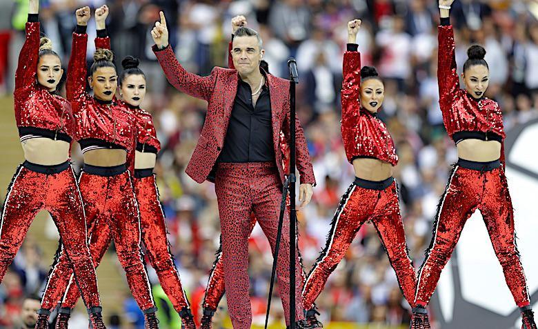 Robbie Williams, Mundial 2018