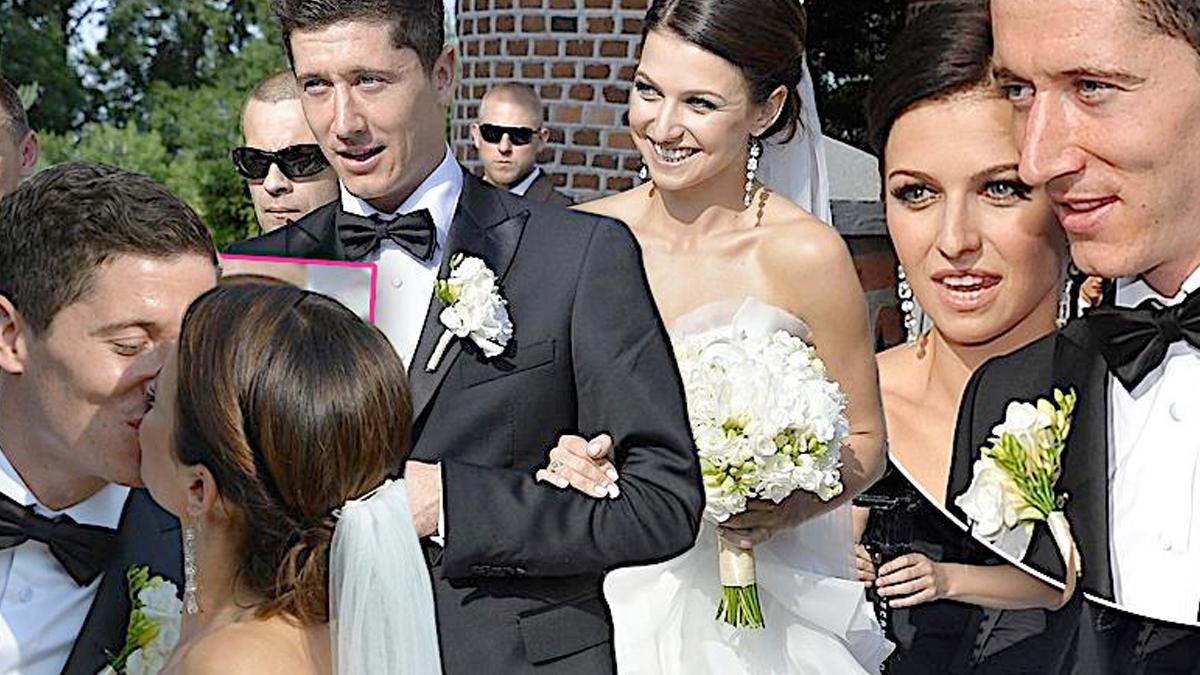 Rocznica ślubu Lewandowskich