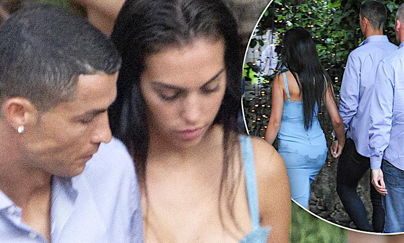 Cristiano Ronaldo i Georgina Rodriguez na randce