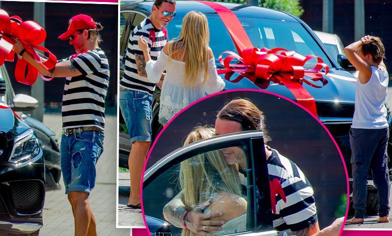 Małgorzata Rozenek dostała od Radosława Majdana Mercedes-Benz GLE 350d 4Matic Coupe na 40 urodziny