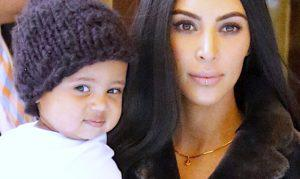 Saint West i Kim Kardashian