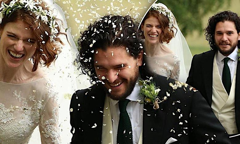 """Gwiazdy """"Gry o tron"""" wzięły ślub i zaskoczyły wszystkich! Tak pięknych zdjęć z ceremonii dawno nie widzieliśmy!"""