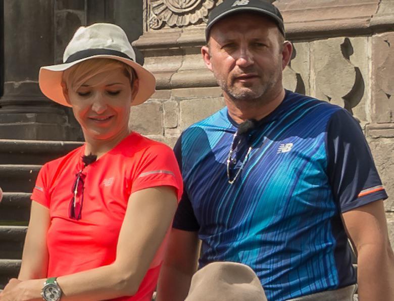 Magda Steczkowska z mężem Piotrem Królikiem