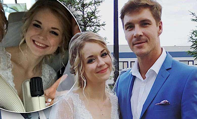 Mikołaj Roznerski pochwalił się ślubnym zdjęciem! Kim jest ta śliczna panna młoda? Zobaczcie jej suknię [DUŻO ZDJĘĆ]
