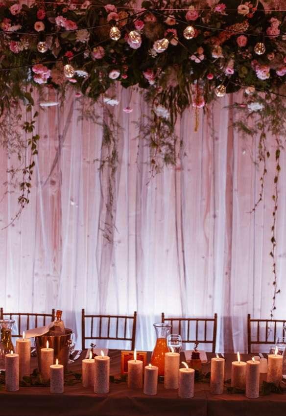 Anna Karczmarczyk pochwaliła się dekoracjami ślubnymi