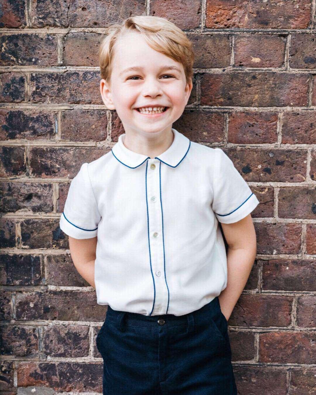Książę George skończył 5 lat
