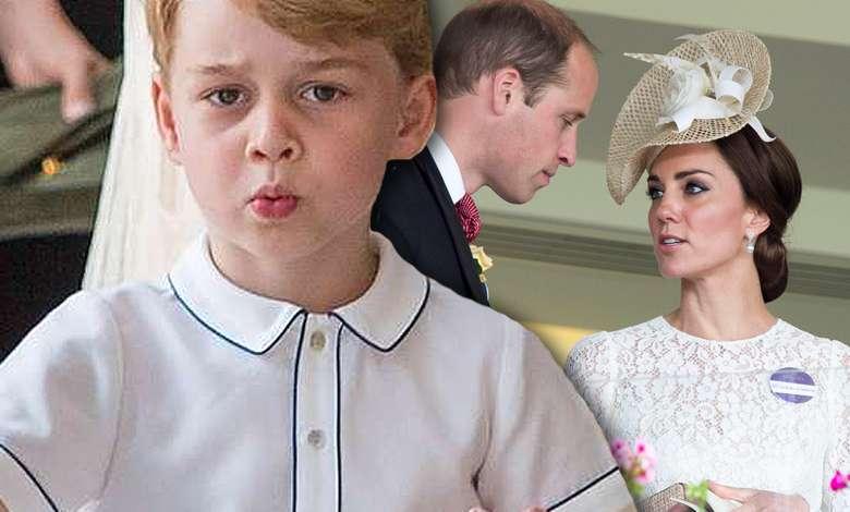 Książę George nowe zdjęcie