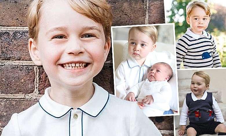 Na nowym oficjalnym portrecie książę George to już młody przystojniak! A wcześniej? Przypominamy najsłynniejsze zdjęcia następcy tronu! [GALERIA +WIDEO]