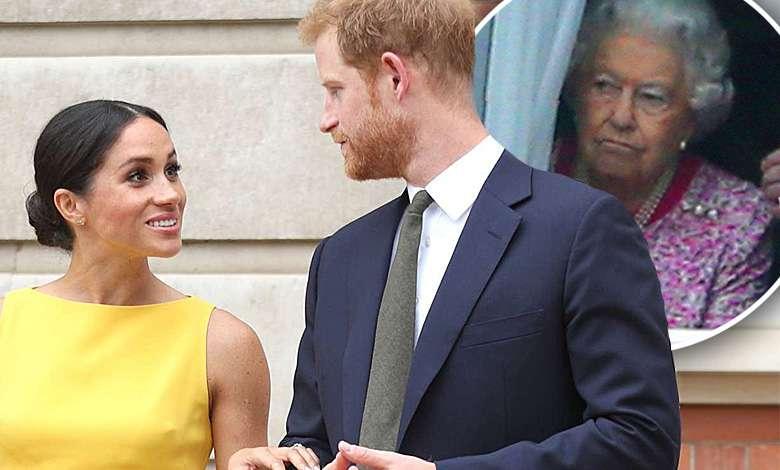Meghan Markle i książę Harry złamali protokół