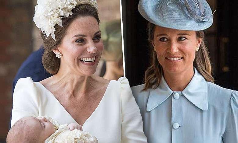 Księżna kate i Pippa Middleton
