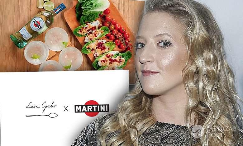 Lara Gessler stworzyła przepisy na włoskie aperitivo z Martini