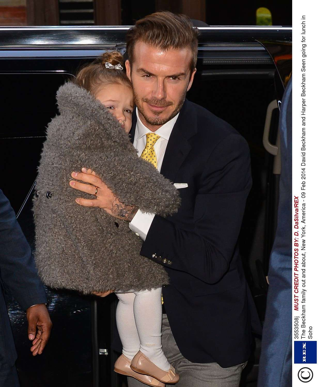 Harper Beckham w 2014 roku