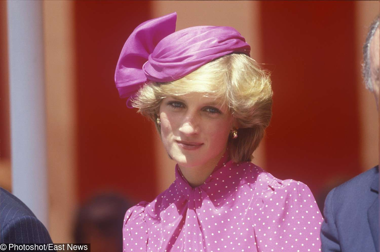 Księżna Diana w kapeluszu Johna Boyda (1983 rok)