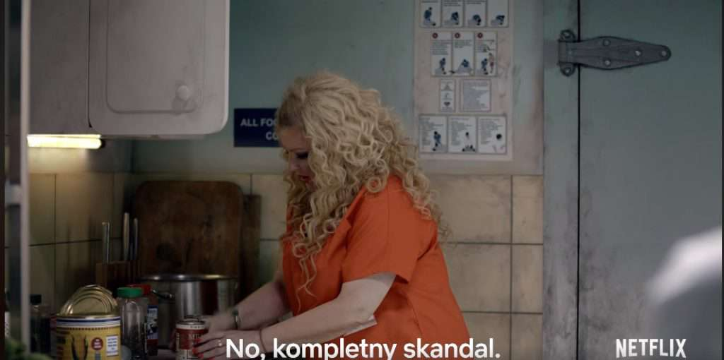 Magda Gessler w Orange is the new black – serial Netflixa