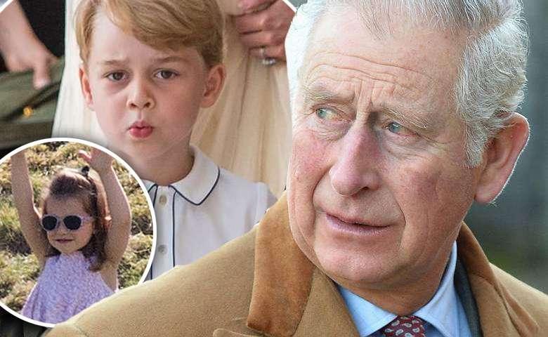 Książę Karol o wnukach