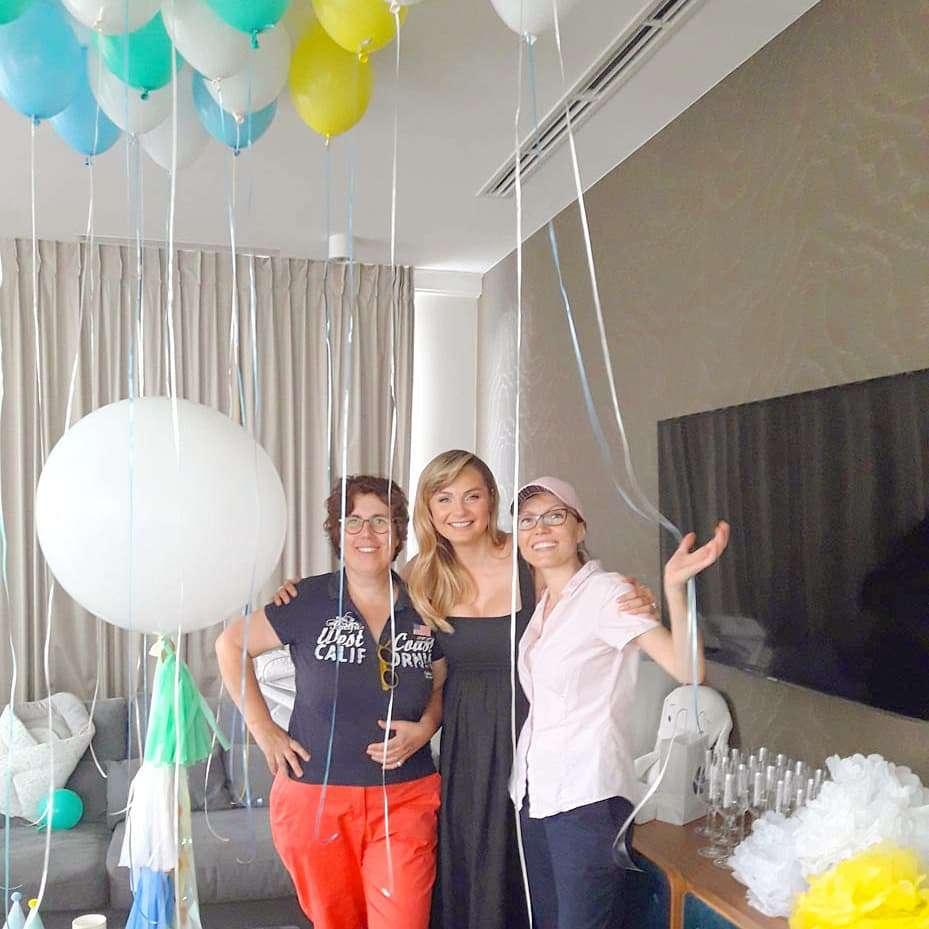 Małgorzata Socha baby shower