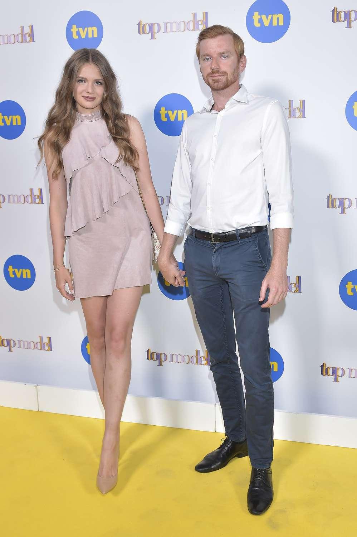 Olga Kaczyńska z chłopakiem w Top Model 7
