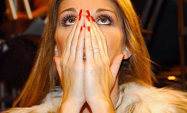 Celine Dion bez makijażu