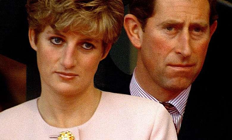 Księżna Diana uderzyła księcia Karola w głowę