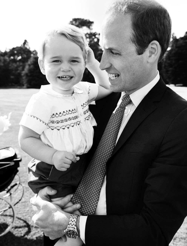 Książę William i książę George – sesja Mario Testino