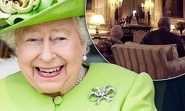 Królowa Elżbieta II ogląda Mundial 2018