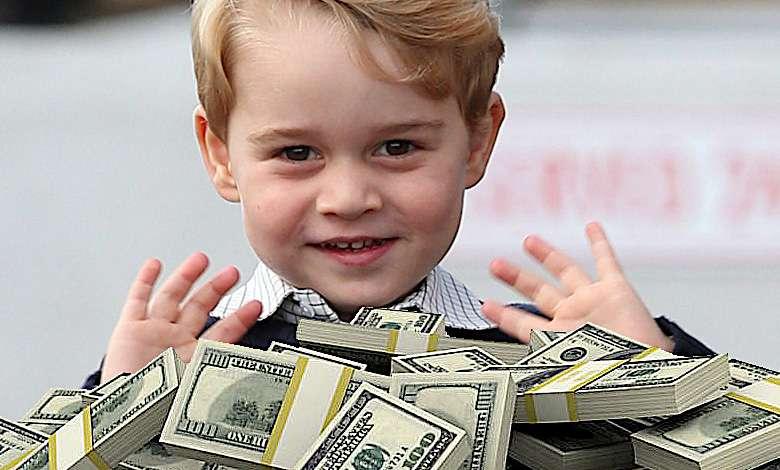 Ile rodzina królewska zarobi na urodzinach księcia George'a