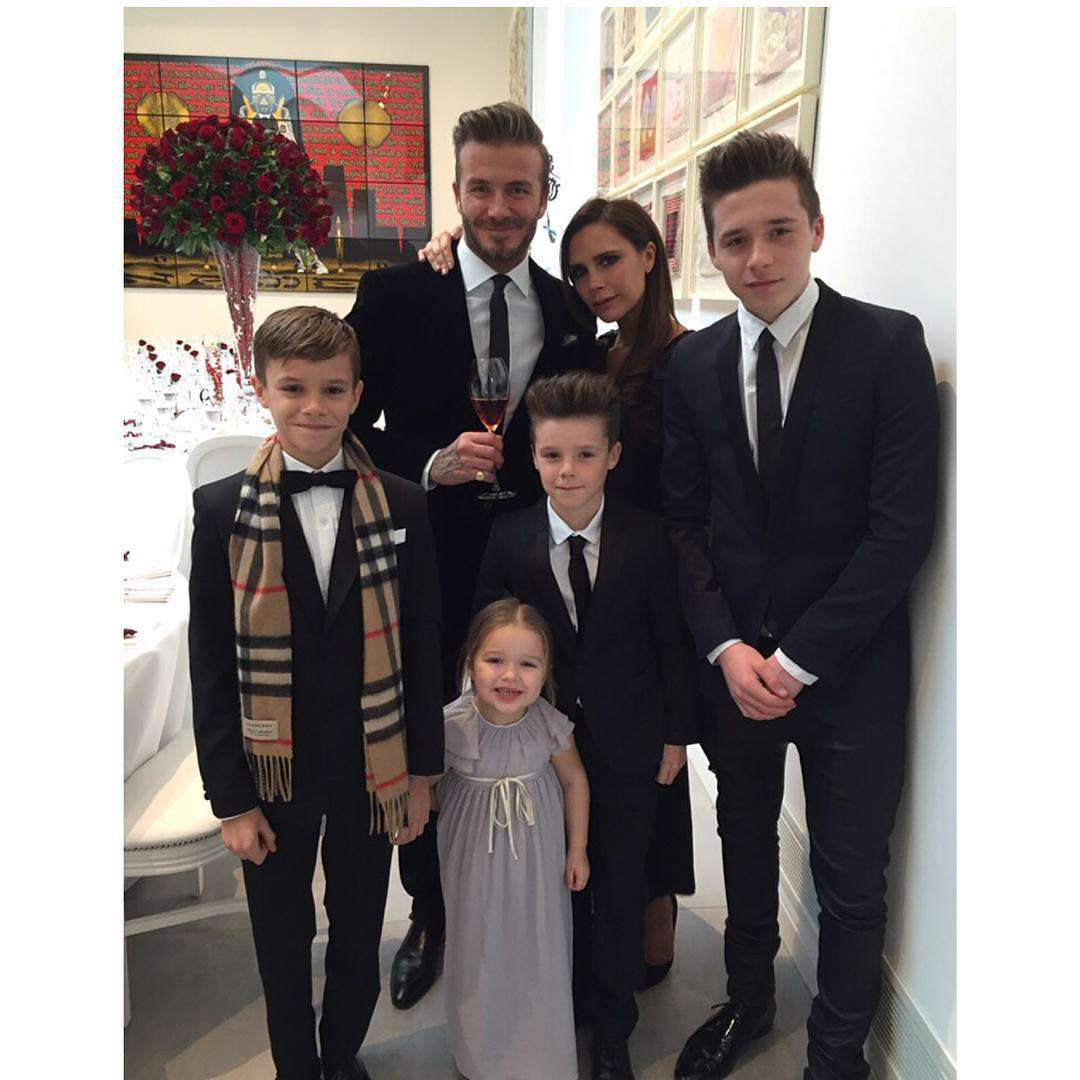 Harper Beckham w 2015 roku