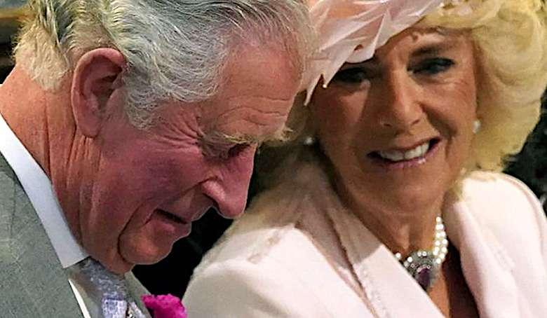 Camilla i książe Karol w Hell's Kitchen