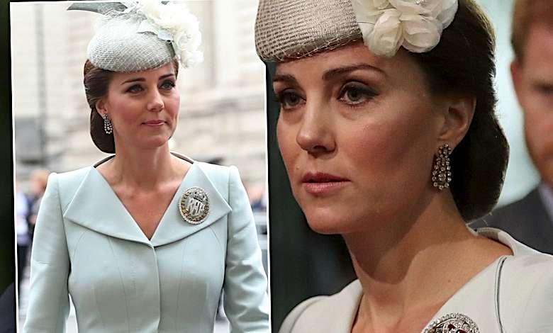 Księżna Kate w jasnej stylizacji