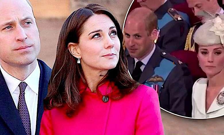 Książę William i księżna Kate wpadka